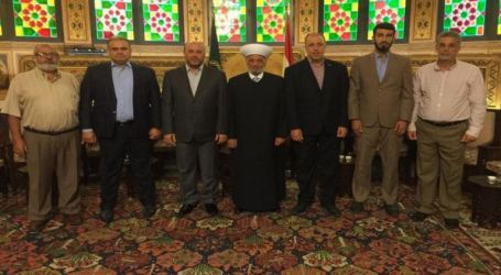 Hamas and Lebanese Mufti discuss Israeli Crime