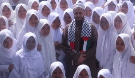 A Cleric of Gaza Visits Aceh, Indonesia
