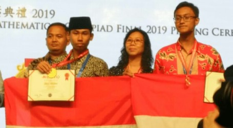 Indonesian Student Wins Gold Medal at Hong Kong Mathematics Olympiad