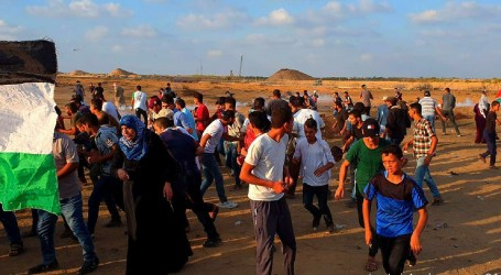 Great Return March in Gaza Continues, Entering the 74th Week