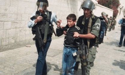 Throwing Stone to Israeli Forces, 21 Children Arrested