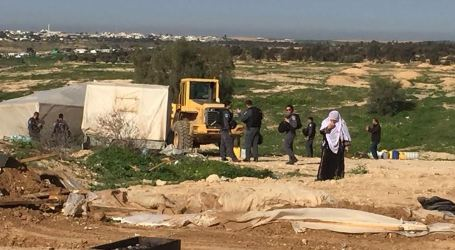 Israel Displaces Araqib Villagers in Negev for 163rd Time