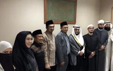 Shaykh Mishari Rasyid Visits Jakarta