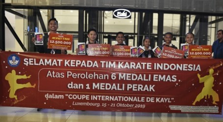 Indonesian Students Win Karate Championship in Luxembourg