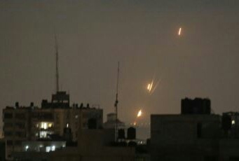 As 10 Gaza Rockets Hit Israel