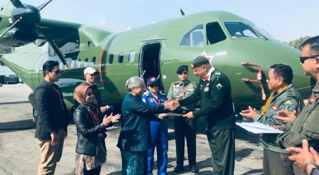 Indonesia Exports Military Aircraft CN-235-220 to Nepal