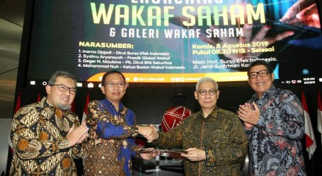 Dompet Dhuafa Presents Waqf Shares