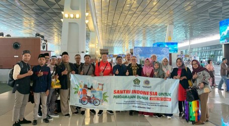 Indonesian Santris Go to China, Introducing Tolerance of Islam
