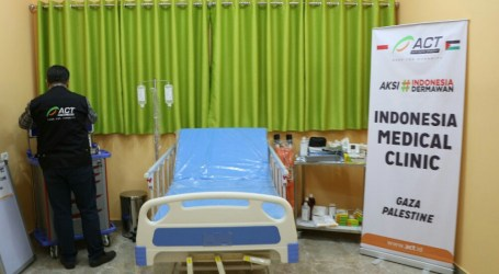 Indonesian Clinic in Gaza Ready to Serve Residents