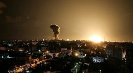 Israel Launches Air Strike on Gaza