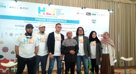 Halal Expo Indonesia 2019 Held at ICE BSD, 6-8 December
