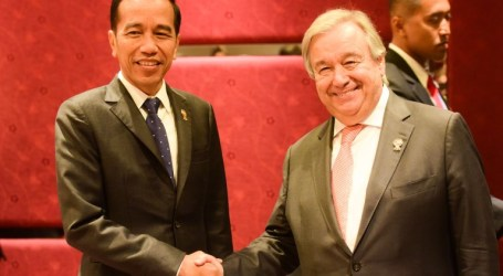 Jokowi- Antonio Guterres Discuss Rakhine and Palestine Issue