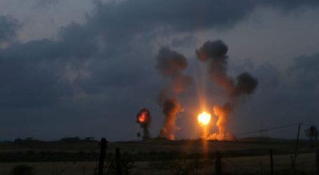 Response Gaza Rocket, Israel Bomb Land Agricultural in Rafah