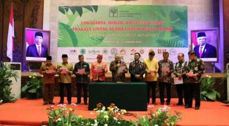 Eight Points Declaration of Interfaith and Indigenous Communities for Indonesia's Tropical Forests