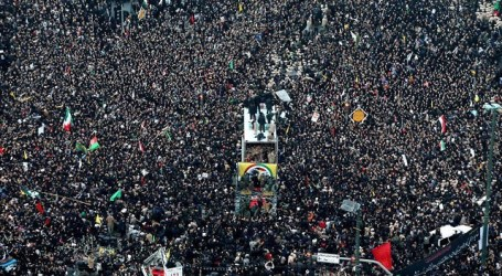 A Million Iranian Mourners to Pay Homage for Soleimani