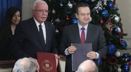 Palestine-Serbia Sign Security Cooperation