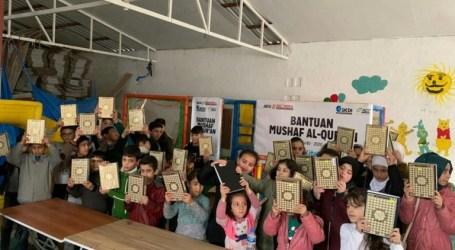 Indonesia Donates Al-Quran Manuscripts for Syrian Children