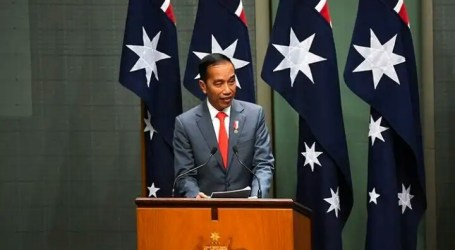 President Jokowi Delivers Speech in front of Australian Parliament