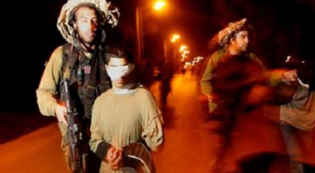 Israeli Forces Kidnap Three Underage Palestinian Children