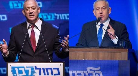 Netanyahu and Gantz Argue on Social Media