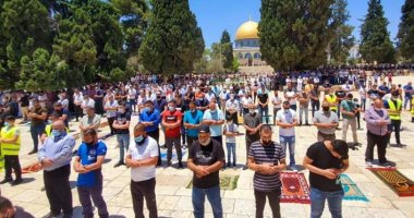 As 20,000 Muslims Perform Friday Prayer at Al-Aqsa Mosque