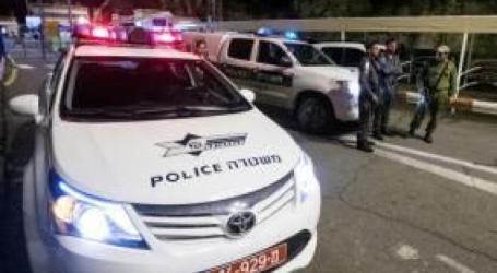 Israeli Police Patrol Car Shot in Ramallah
