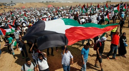 Thousands of Gazans Protest Against Annexation