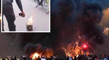 An Activist Who Burns Al-Quran Arrested, Riot Happend in South Sweden