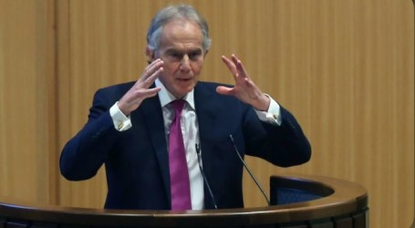 Tony Blair: Palestine-Israel Ties Key to Peace