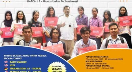 Euro Management Indonesia Holds Online Foreign Language Course