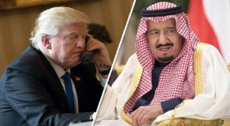 King Salman To Trump: Gulf Wants Fair Solution to the Palestinian Issue