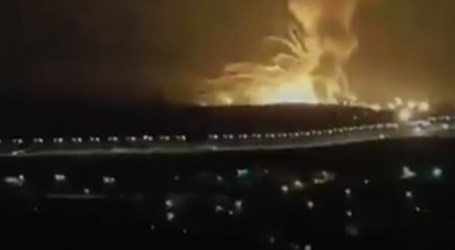 Explosion Occurs at Military Installation in Zarqa City, Jordan