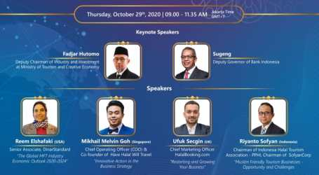 2020 ISEF International Conference on Muslim Friendly Tourism Held in Virtual