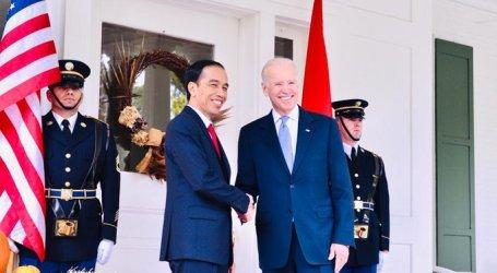 President Joko Widodo Congratulates Joe Biden