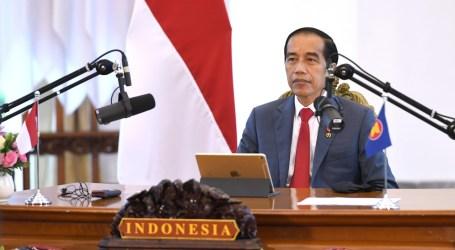 President Jokowi: ASEAN Must Be Solid in Facing Rivalry of Two Great Powers