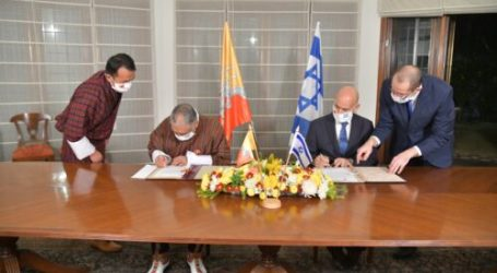 Bhutan-Israel Sign Normalization Agreement