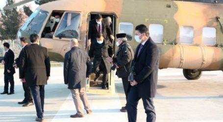 Former VP Jusuf Kalla Arrives at Haram Sarai Kabul Palace