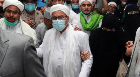 Habib Rizieq Detained of Health Quarantine Violation