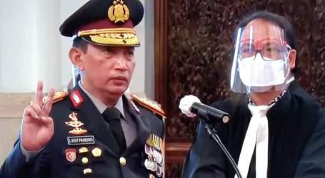 President Jokowi Inaugurated New National Police Chief