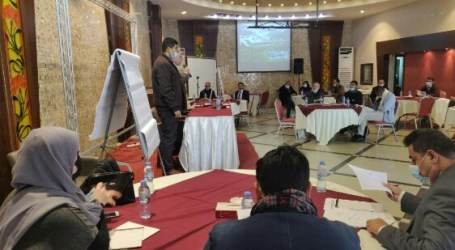 Central Commission Begins Training For Holding Palestinian Election