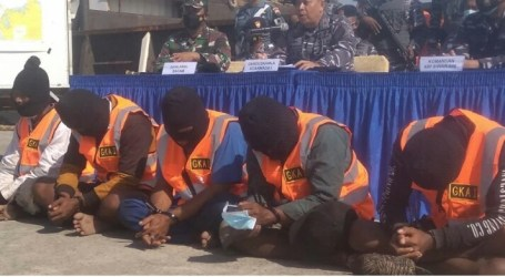 Indonesia Arrests Five Malaysian Ship Pirates