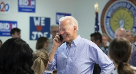 Biden Urges Israeli PM to Advance Peace with Palestinians in First Call