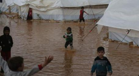 Floods, Cold Threaten Palestinian Refugees in Syiria