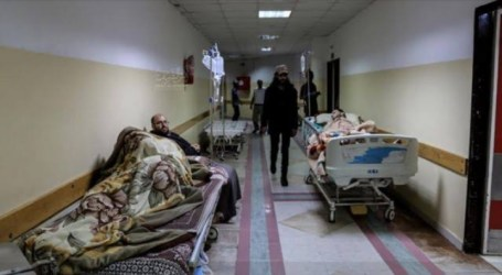 Palestinian Hospital Runs Out of Beds for Covid-19 Patients