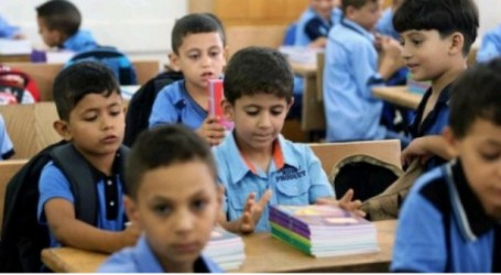 Palestinian Ministry of Education Announces Start of New Academic Year