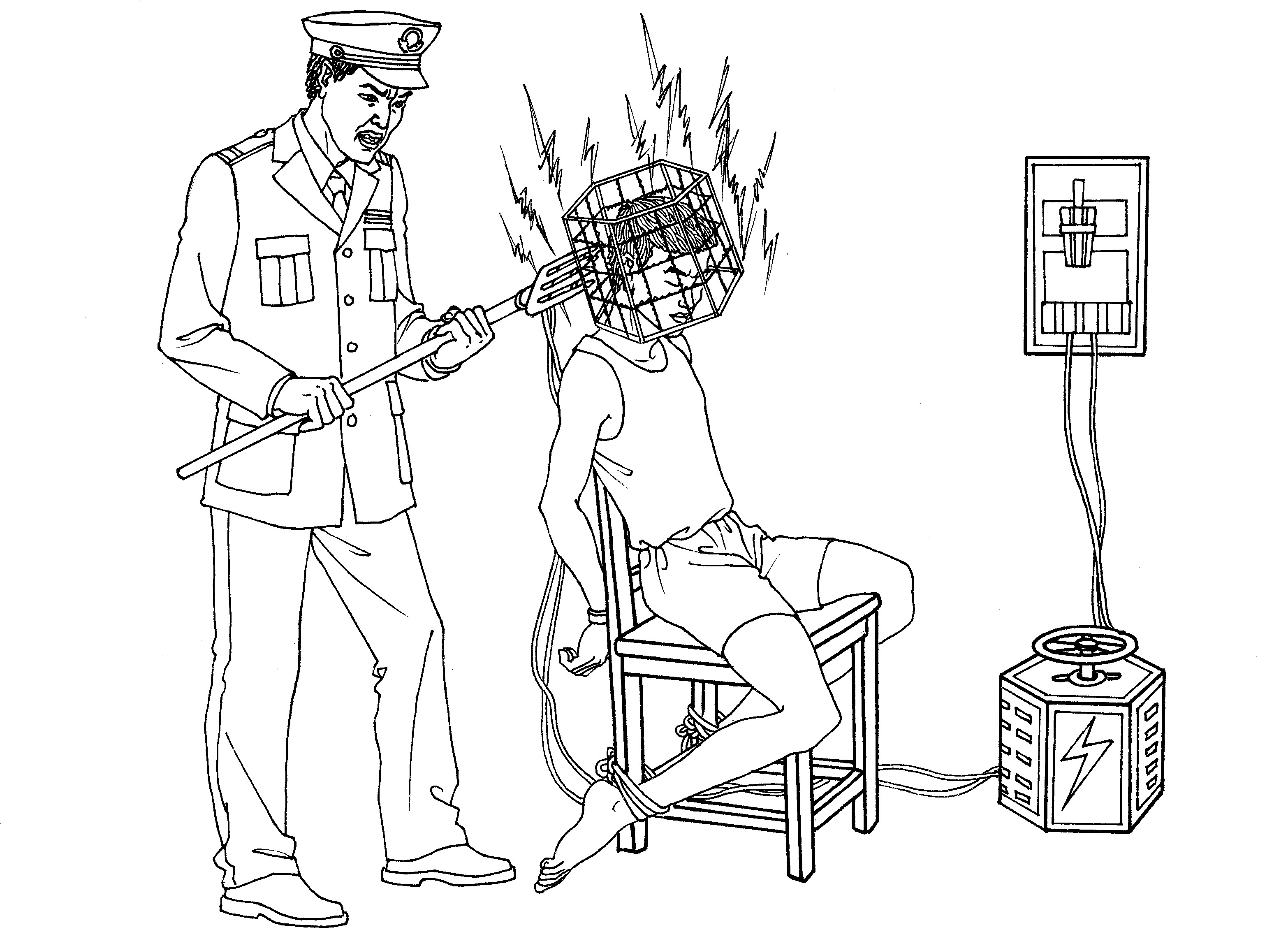 Illustrations Of Torture Methods Used To Persecute Falun