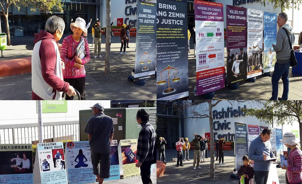 Sdney Australia La Gente Conoce La Verdad Sobre Falun