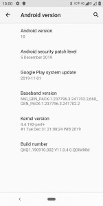 Xiaomi Mi A2 Android 10.0 Stable Firmware