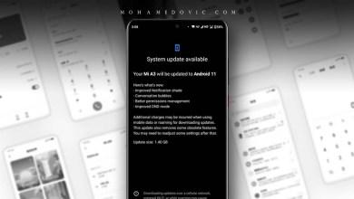 Xiaomi Mi A3 Android 11 Update