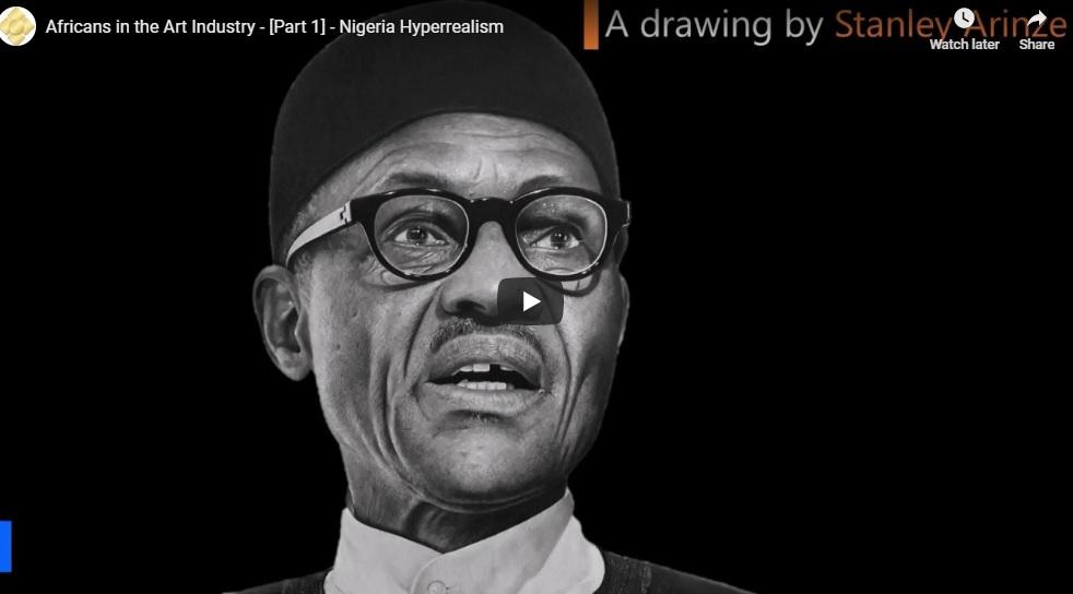 Nigerian Hyperrealist Artists are just … amazing!!!